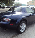 mazda mx 5 miata 2008 blue gasoline 4 cylinders rear wheel drive manual 32901