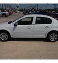 chevrolet cobalt 2010 white sedan lt gasoline 4 cylinders front wheel drive 4 speed automatic 77090