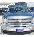 chevrolet silverado 1500 2012 blue ls flex fuel 8 cylinders 2 wheel drive 4 spd auto,elec cntlled b 77090