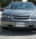 chevrolet impala 2004 gray sedan gasoline 6 cylinders front wheel drive automatic 27569