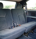 chrysler town and country 2001 steel blue van lx gasoline 6 cylinders front wheel drive automatic 61008