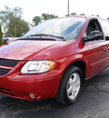 dodge grand caravan 2005 red van sxt gasoline 6 cylinders front wheel drive automatic 61008