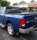 dodge ram 1500 2009 blue big horn gasoline 8 cylinders 4 wheel drive automatic 61008