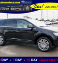 ford edge 2008 black suv ltd awd navi gasoline 6 cylinders all whee drive automatic 56001
