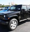 jeep wrangler unlimited 2012 black suv sahara gasoline 6 cylinders 4 wheel drive automatic 07730