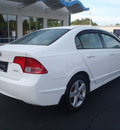 honda civic 2007 white sedan ex gasoline 4 cylinders front wheel drive 5 speed manual 44410