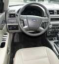 ford fusion 2010 silver sedan sel flex fuel 6 cylinders front wheel drive shiftable automatic 98032
