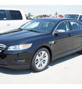 ford taurus 2012 black sedan limited gasoline 6 cylinders front wheel drive automatic 77388