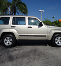 jeep liberty 2010 gray suv sport gasoline 6 cylinders 2 wheel drive automatic 33177