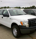 ford f 150 2011 white flex fuel 8 cylinders 4 wheel drive 6 speed automatic 62863