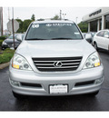 lexus gx 470 2008 silver suv navigation mark levinson gasoline 8 cylinders 4 wheel drive automatic 07755