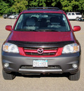 mazda tribute 2005 red suv 3 0 gasoline 6 cylinders all whee drive automatic with overdrive 55318