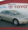 toyota camry 2007 gold sedan gasoline 4 cylinders front wheel drive standard 79925