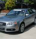 audi a4 2008 gray sedan 2 0t gasoline 4 cylinders front wheel drive shiftable automatic 27616