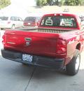 dodge dakota 2006 red st gasoline 6 cylinders 4 wheel drive 6 speed manual 99212