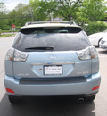 lexus rx 330 2004 lt  blue suv premium package gasoline 6 cylinders all whee drive automatic 07755