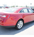 ford taurus 2012 red sedan limited gasoline 6 cylinders front wheel drive automatic 77388