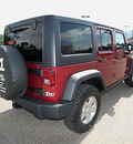 jeep wrangler 2012 red suv unlimited rubic gasoline 6 cylinders 4 wheel drive automatic 81212