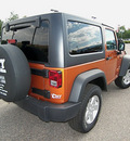 jeep wrangler 2011 orange suv sport gasoline 6 cylinders 4 wheel drive 6 speed manual 81212