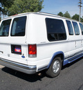 ford econoline e 150 1997 white van 63k actual miles v6 automatic with overdrive 80012