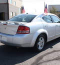 dodge avenger 2010 silver sedan r t gasoline 4 cylinders front wheel drive automatic 80229