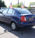 hyundai accent 2010 dk  blue sedan gls gasoline 4 cylinders front wheel drive automatic with overdrive 80229
