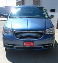 chrysler town and country 2012 lt  blue van touring flex fuel 6 cylinders front wheel drive automatic 80301