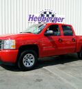 chevrolet silverado 1500 2010 red lt flex fuel 8 cylinders 4 wheel drive automatic 80905