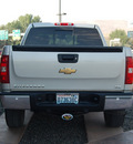 chevrolet silverado 1500 2007 silver 8 cylinders 4 wheel drive automatic 99352