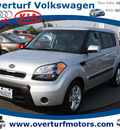 kia soul 2010 silver wagon soul gasoline 4 cylinders front wheel drive automatic 99336