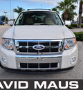 ford escape 2011 white suv limited flex fuel 6 cylinders front wheel drive automatic 32771