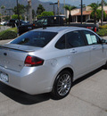 ford focus 2010 silver sedan ses gasoline 4 cylinders front wheel drive automatic 91010