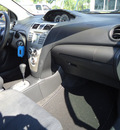 toyota yaris 2008 gray sedan gasoline 4 cylinders front wheel drive automatic 33177
