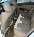honda accord 2010 white sedan ex l v6 w navigation gasoline 6 cylinders front wheel drive automatic 75228