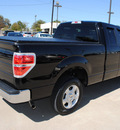 ford f 150 2009 black xlt gasoline 8 cylinders 2 wheel drive automatic 75228