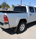 toyota tacoma 2008 silver prerunner v6 gasoline 6 cylinders 2 wheel drive automatic 75228