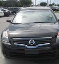 nissan altima 2007 black sedan s gasoline 4 cylinders front wheel drive automatic 33884