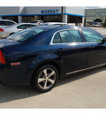 chevrolet malibu 2011 blue sedan lt flex fuel 4 cylinders front wheel drive 6 speed automatic 77090