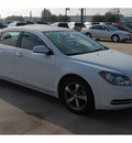 chevrolet malibu 2011 white sedan lt gasoline 4 cylinders front wheel drive 6 speed automatic 77090