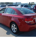 chevrolet cruze 2011 red sedan lt fleet gasoline 4 cylinders front wheel drive 6 speed automatic 77090
