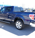 ford f 150 2011 dk  blue lariat flex fuel 8 cylinders 2 wheel drive automatic 77388