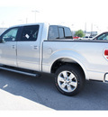 ford f 150 2011 silver lariat gasoline 6 cylinders 2 wheel drive automatic 77388
