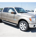 ford f 150 2011 beige lariat gasoline 6 cylinders 2 wheel drive automatic 77388