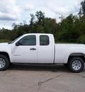 gmc sierra 1500 2012 white work truck flex fuel 8 cylinders 4 wheel drive not specified 44024