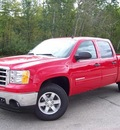 gmc sierra 1500 2012 red sle flex fuel 8 cylinders 4 wheel drive not specified 44024