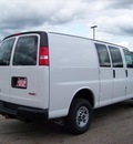 gmc savana cargo 2012 white van 2500 flex fuel 8 cylinders rear wheel drive not specified 44024