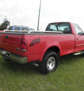 ford f 150 1999 red xlt gasoline 8 cylinders 4 wheel drive automatic 34788