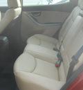 hyundai elantra 2012 red allure sedan gls gasoline 4 cylinders front wheel drive automatic 99208