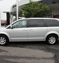 chrysler town and country 2009 silver van touring gasoline 6 cylinders front wheel drive automatic 45036