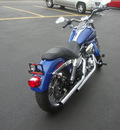 harley davidson fxdl 2008 blue low rider 2 cylinders 6 speed 45342